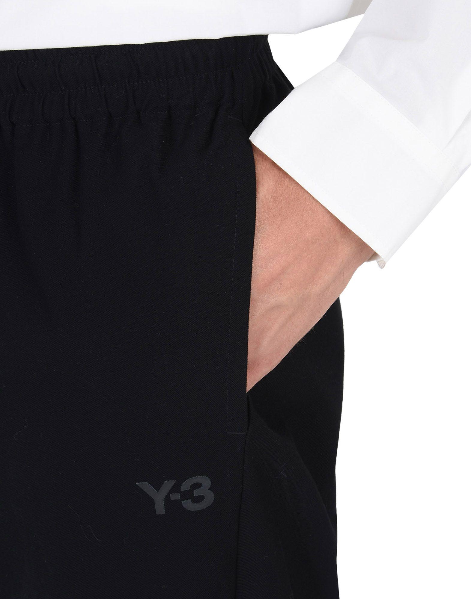 Y-3 TWILL PANTS TROUSERS man Y-3 adidas