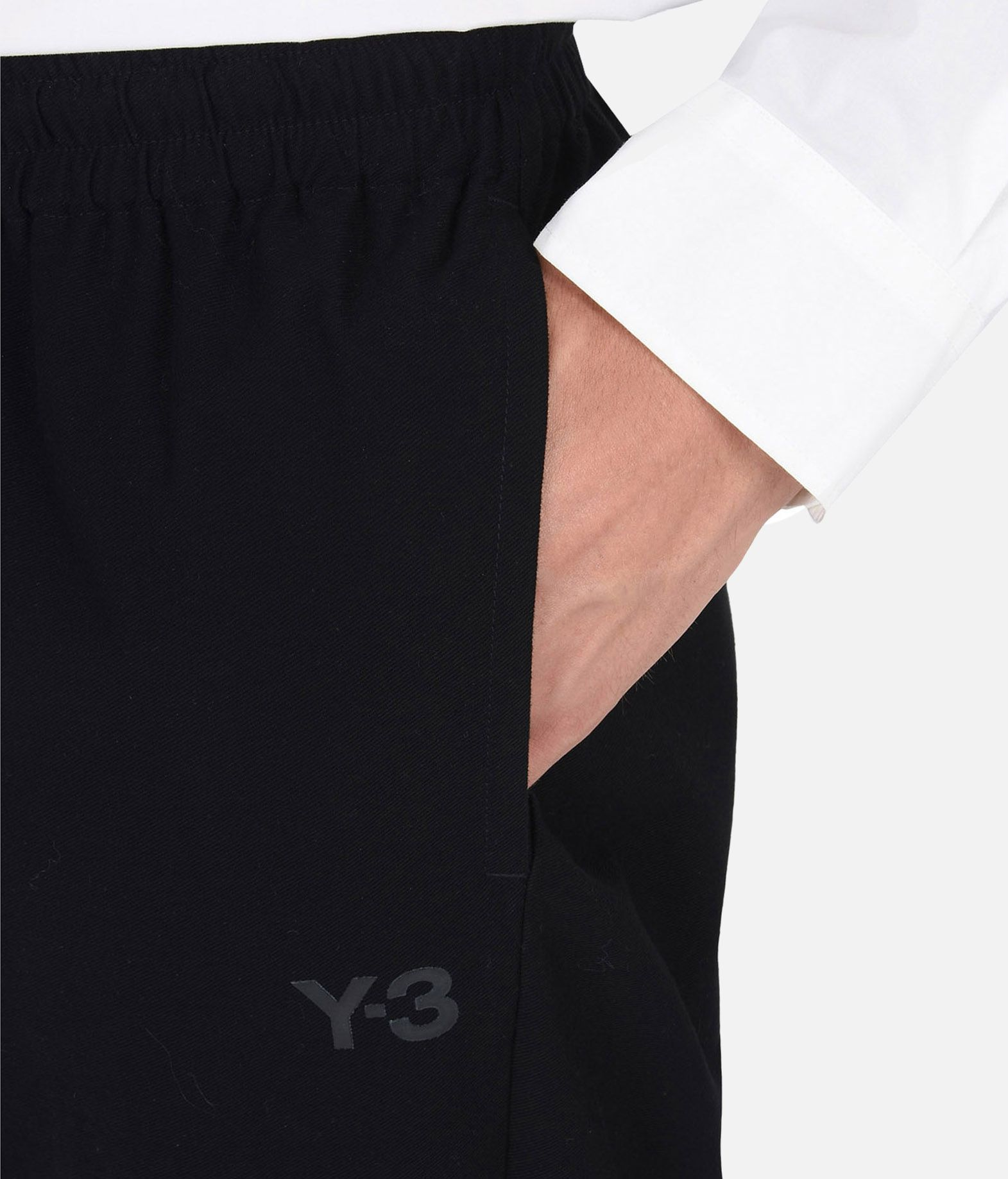 Y-3 Y-3 TWILL PANTS Casual trouser Man a