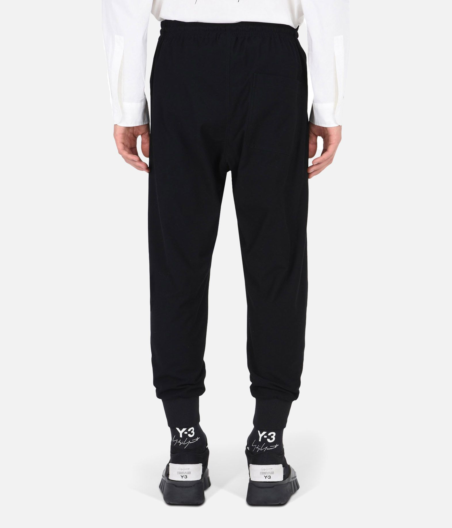 Y-3 Y-3 TWILL PANTS Casual trouser Man e