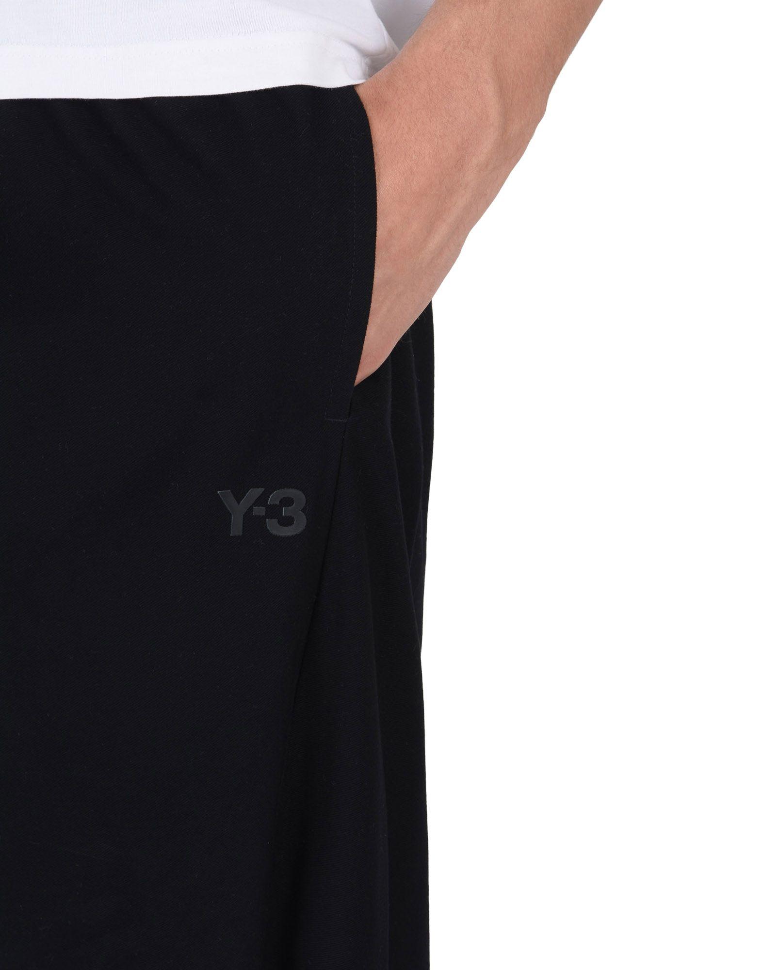 Y-3 TWILL SAROUEL PANTS TROUSERS man Y-3 adidas
