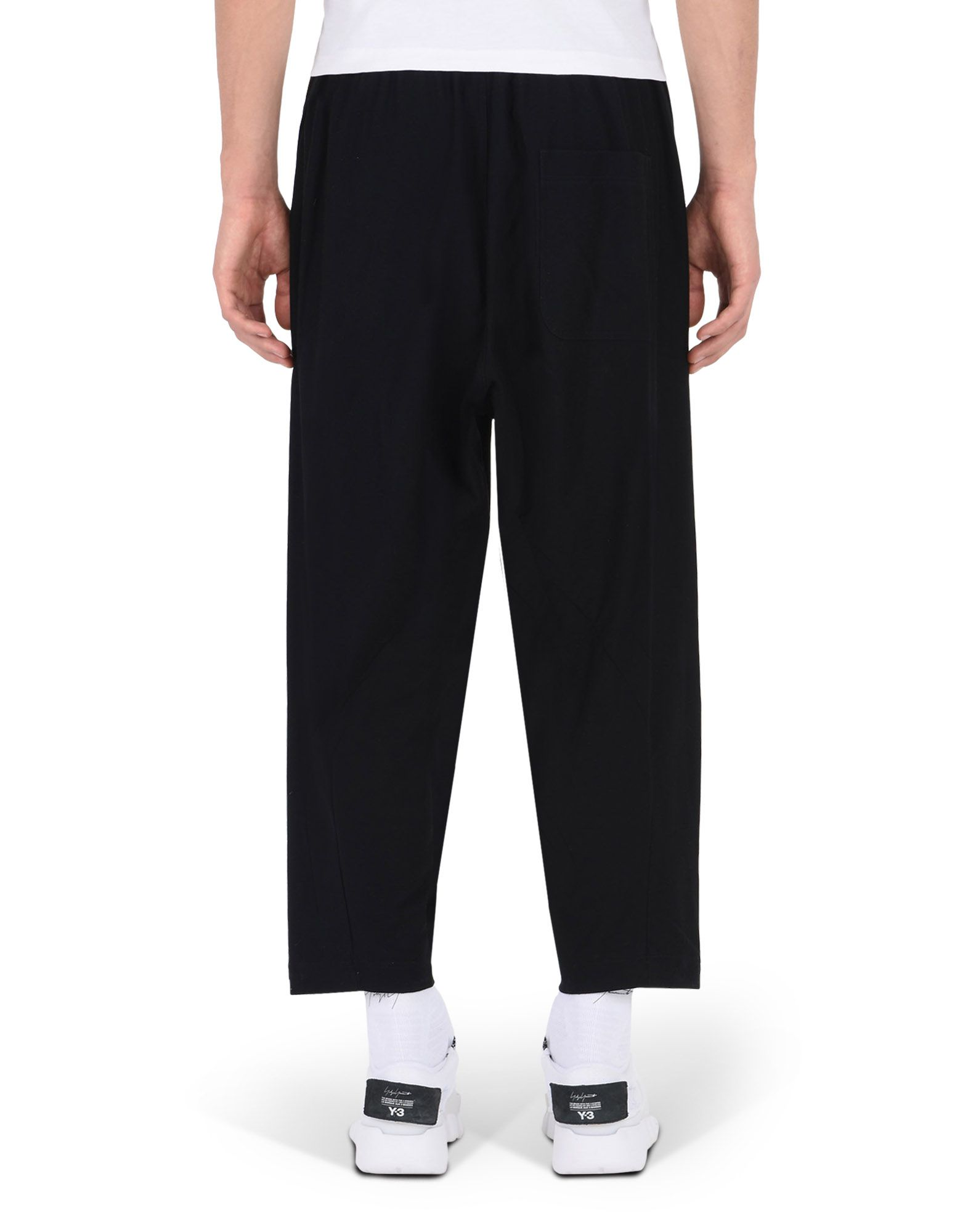 Y-3 TWILL SAROUEL PANTS TROUSERS man Y-3 adidas