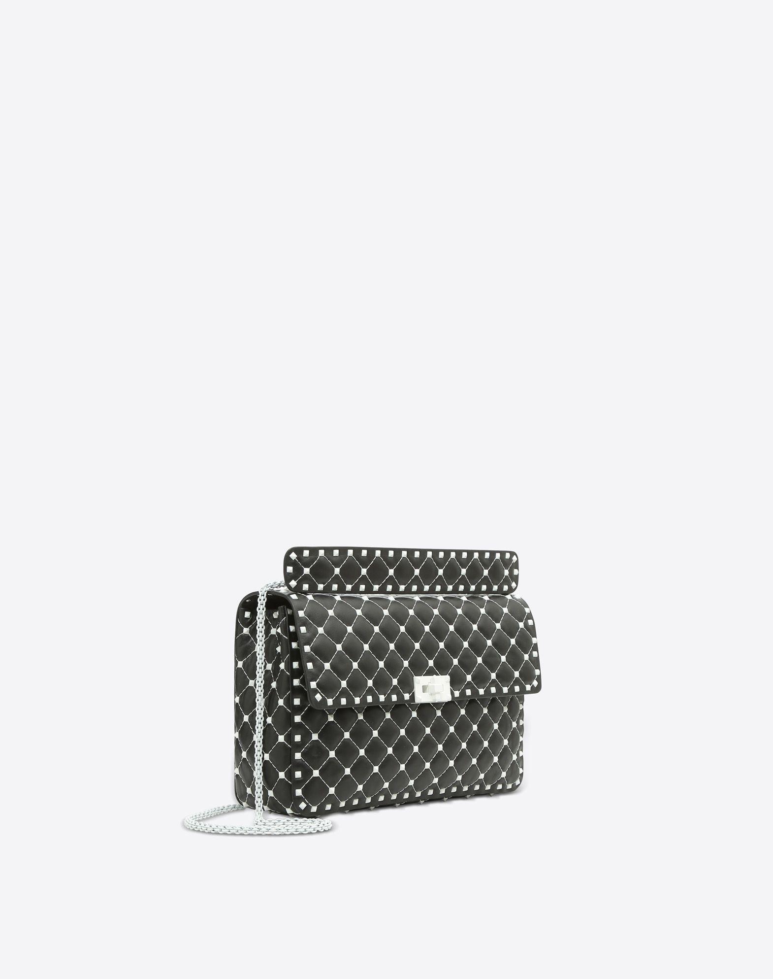 VALENTINO GARAVANI Free Rockstud Spike Chain Bag Shoulder bag D r