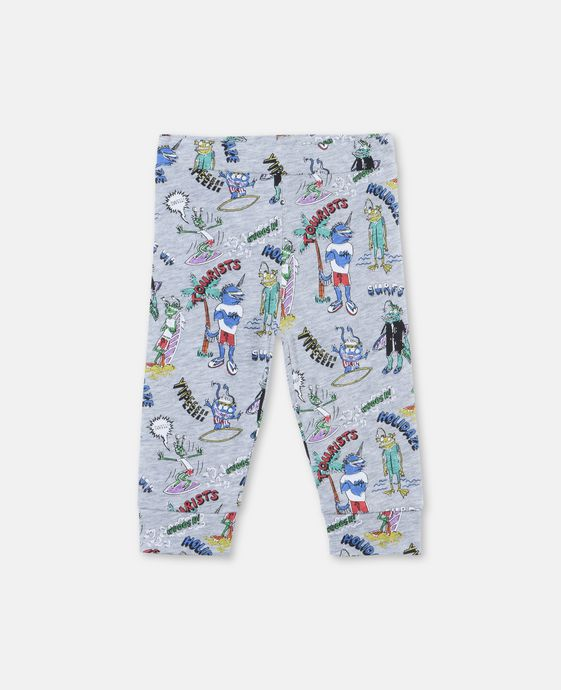 Giggle Tourists Print Pants