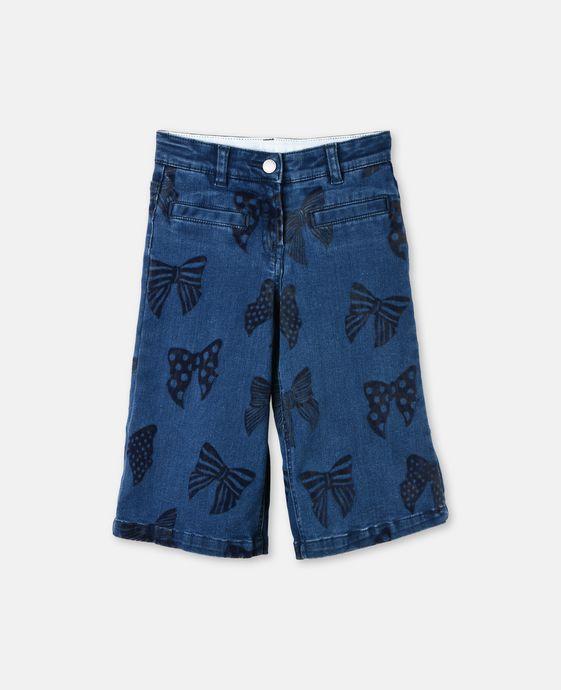 May Bows Denim Jeans