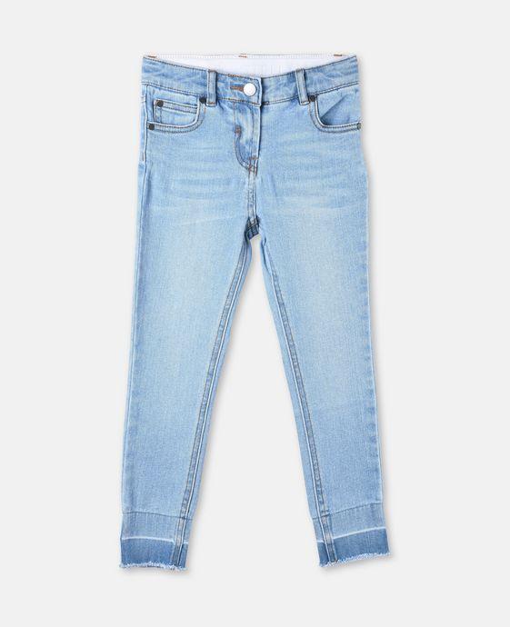 Nina Pale Denim Skinny Jeans