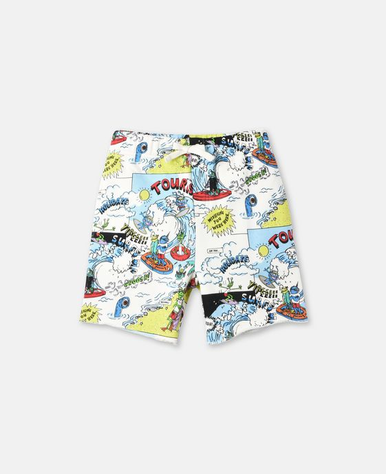 Josh All-Over Print Swim Shorts