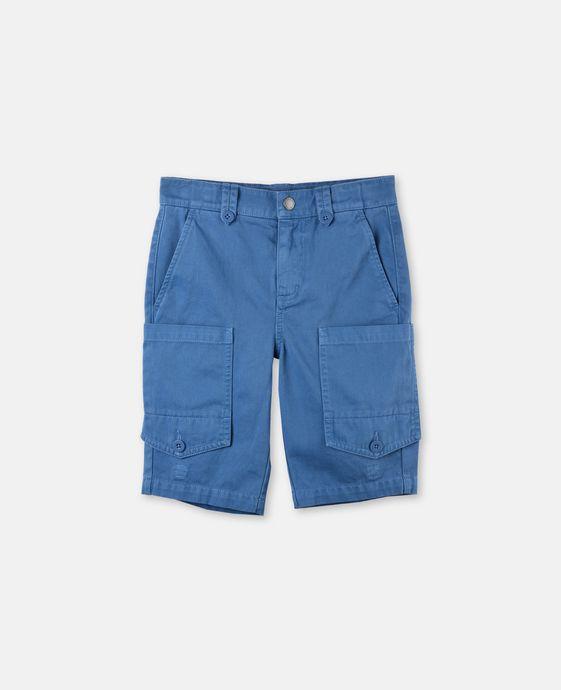 松蓝色短裤