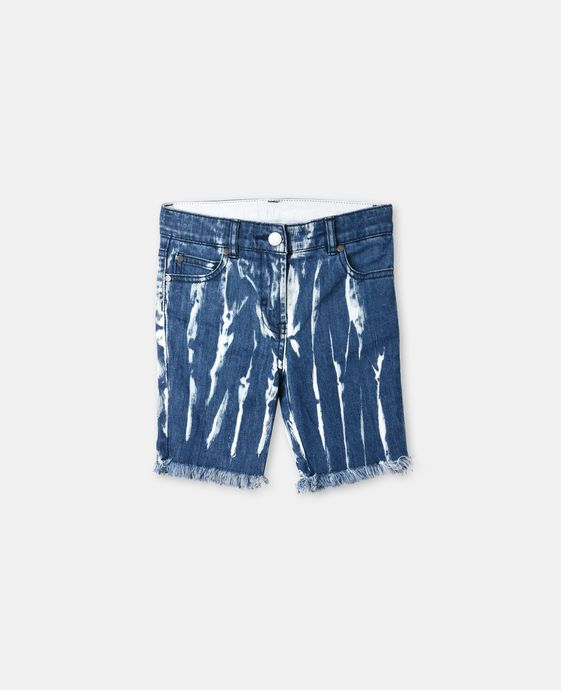 Kennedy Tie-Dye Denim Shorts