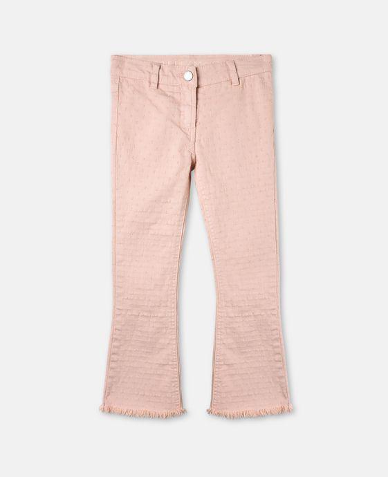 Ashton Pink Emproidery Flare