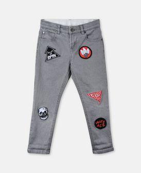 Lohan Badge Jeans