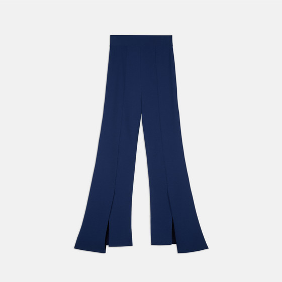 Sapphire Compact Knit Trousers