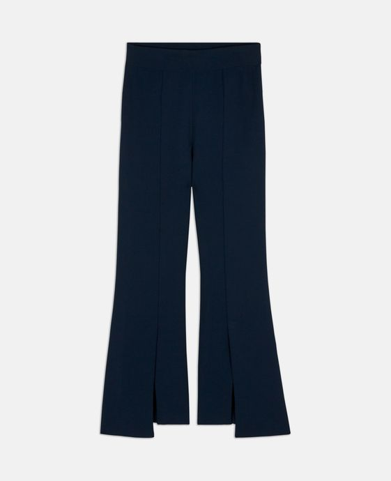 Ink Compact Knit Trousers