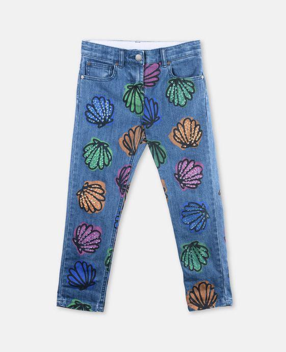 Lohan Conchiglie & Jeans Paillettes