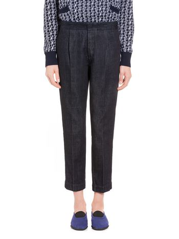 Marni  Pencil pants in denim Woman