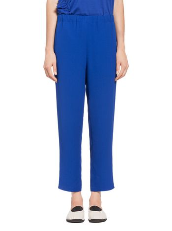 Marni Pants in reversed satin crepe Woman