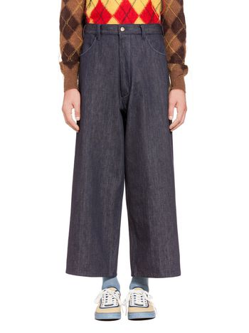 Marni 4-pocket pants in denim Man