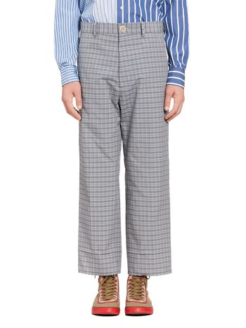 Marni Pants in micro structure jacquard Man