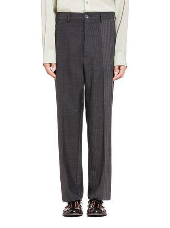Marni Pants in pinstripe degradé wool Man
