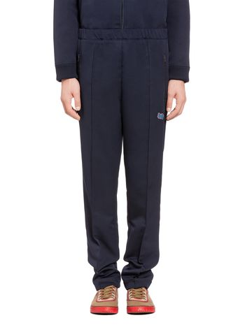 Marni Gym pants in cotton with M logo Man