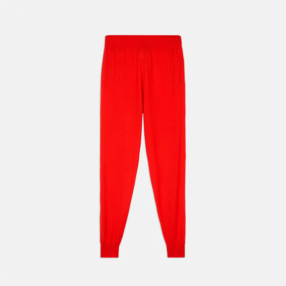 Knit Tapered Trousers