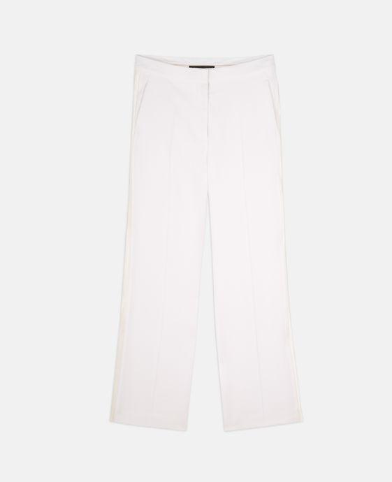 Victoria White Tuxedo Pants