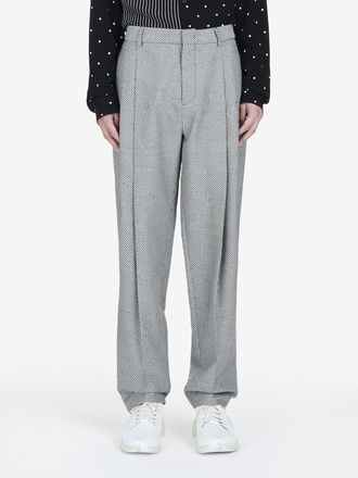 Patchwork Dogtooth Pants