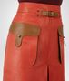 BOTTEGA VENETA TERRACOTTA CALF SKIRT Skirt or trouser Woman ap