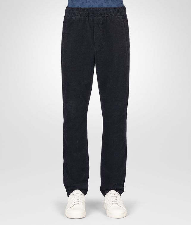 BOTTEGA VENETA DARK NAVY CORDUROY PANT Trouser or jeans [*** pickupInStoreShippingNotGuaranteed_info ***] fp