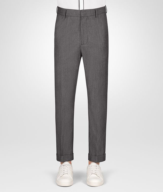 BOTTEGA VENETA NERO MIST WOOL PANT Trouser or jeans Man fp