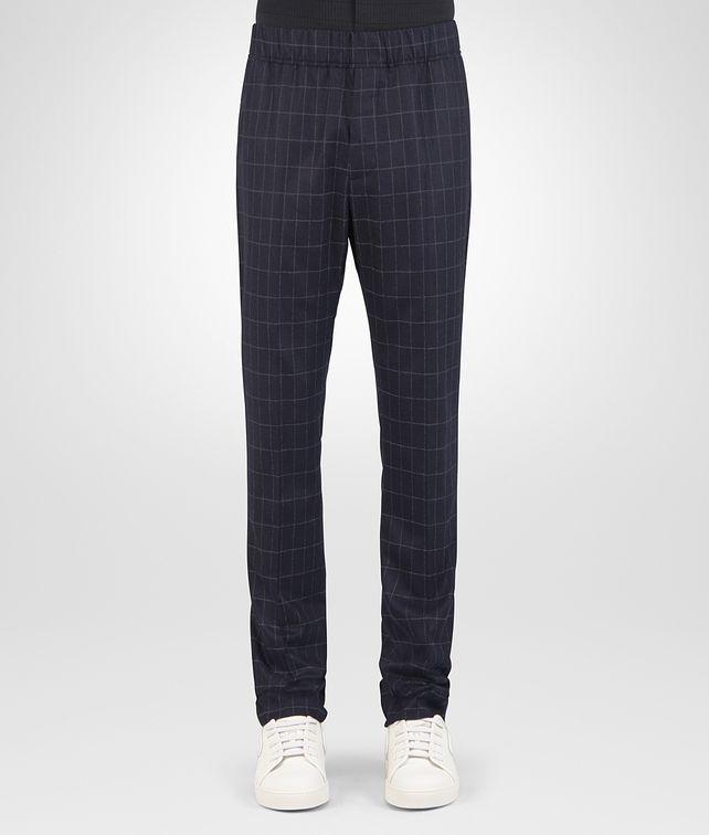 BOTTEGA VENETA DARK NAVY WOOL CASHMERE PANT Trouser or jeans [*** pickupInStoreShippingNotGuaranteed_info ***] fp