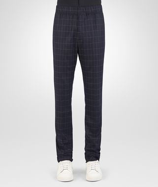 DARK NAVY WOOL CASHMERE PANT