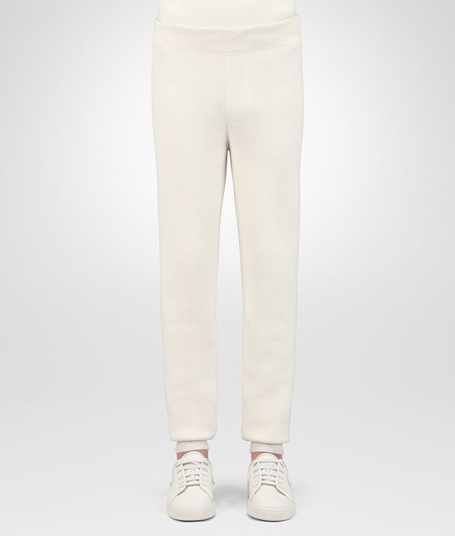 BOTTEGA VENETA LATTE WOOL CASHMERE PANT Trouser or jeans Man fp