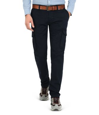NAPAPIJRI MOTO MAN CARGO TROUSERS,DARK BLUE