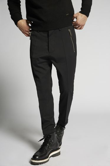 DSQUARED2 Stretch Wool Hockney Pants Pants Man