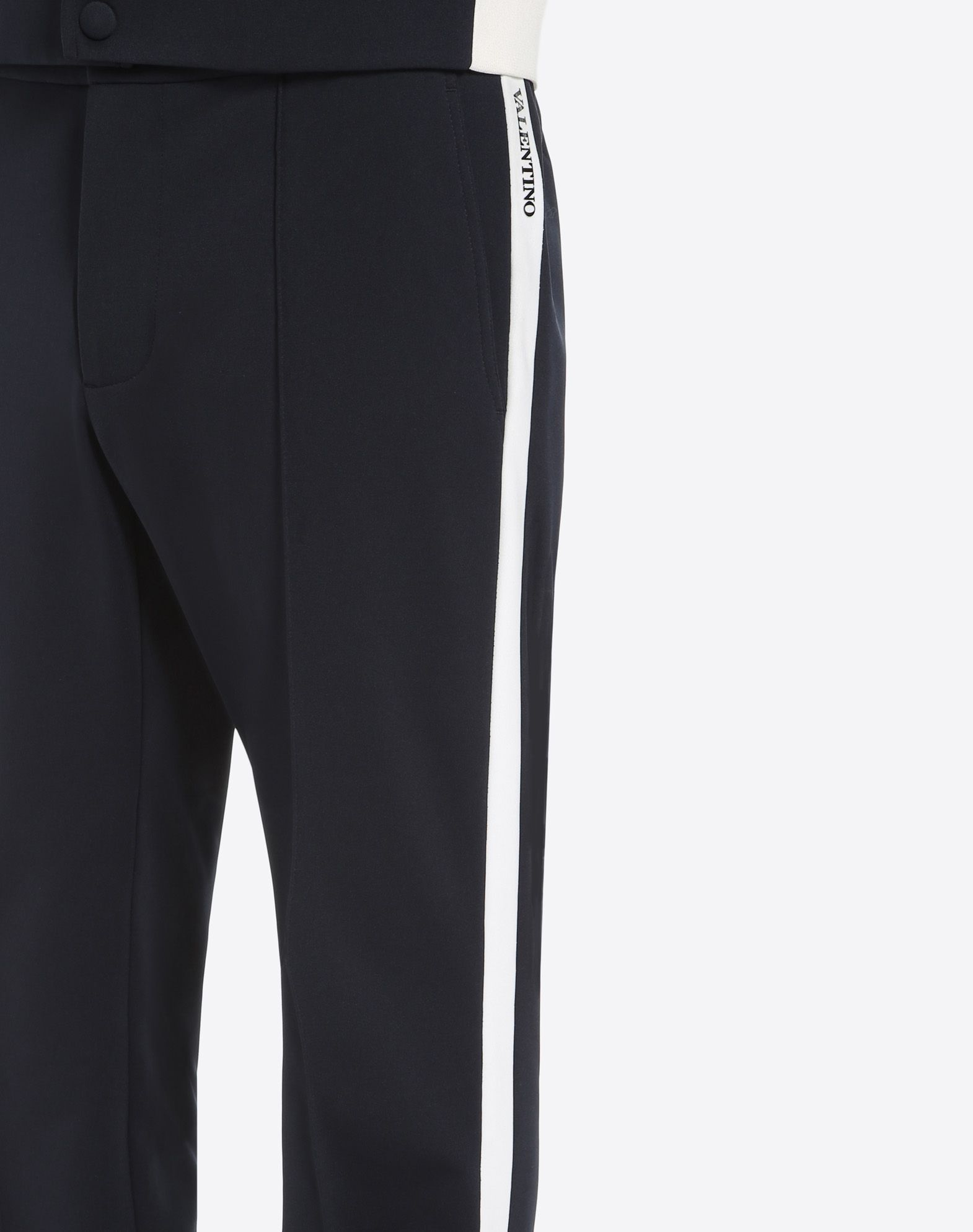 Trousers with contrasting bands Valentino UFrRhmqj