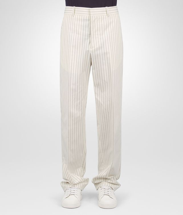 BOTTEGA VENETA LATTE COTTON PANT Jeans or Pant [*** pickupInStoreShippingNotGuaranteed_info ***] fp