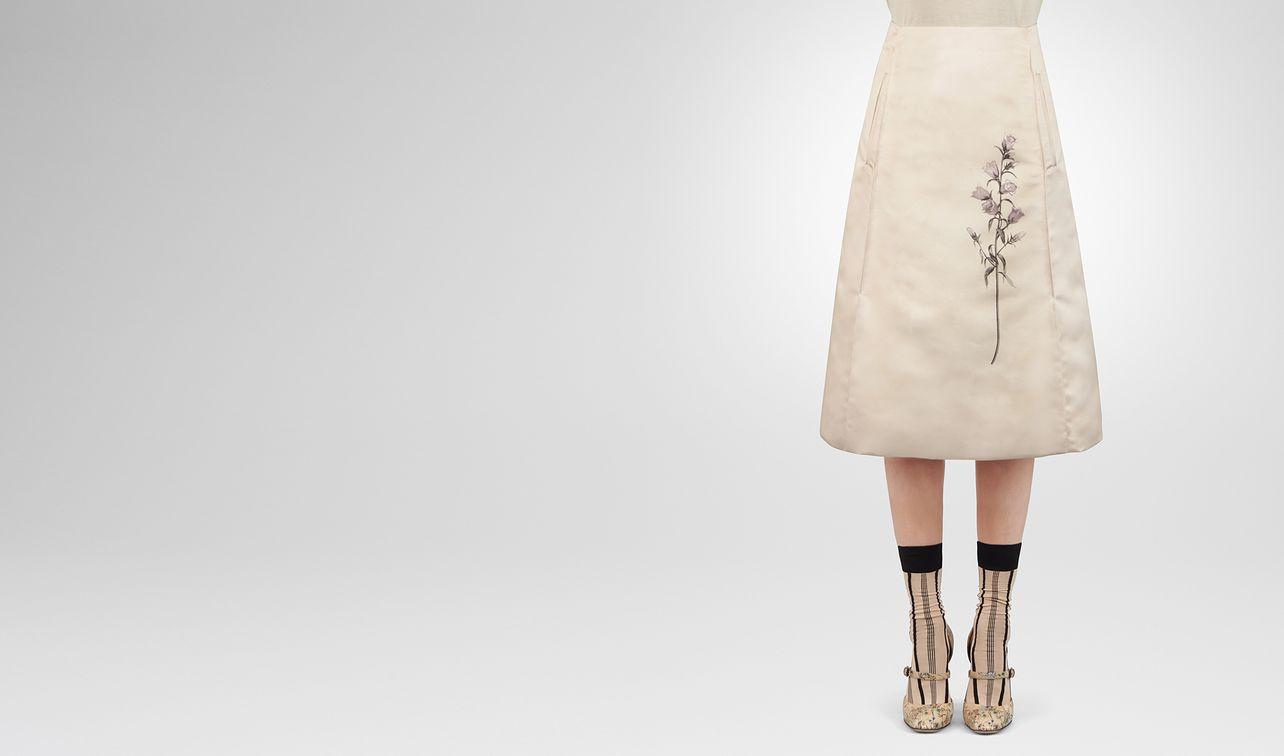 botanical print tech duchesse skirt landing