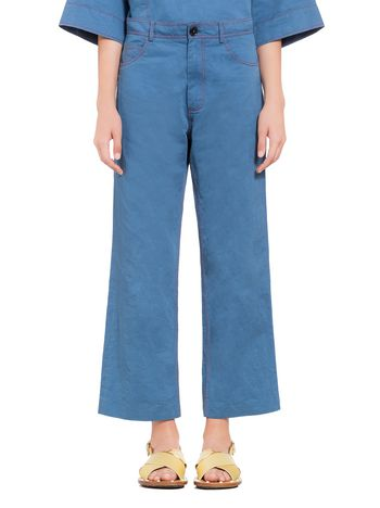Marni 5-pocket pants in cotton Woman