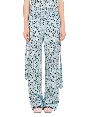 Marni Pants in cotton Cosmos print Woman