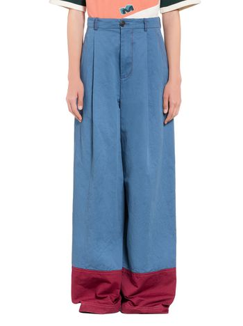 Marni Pants in double twisted cotton Woman