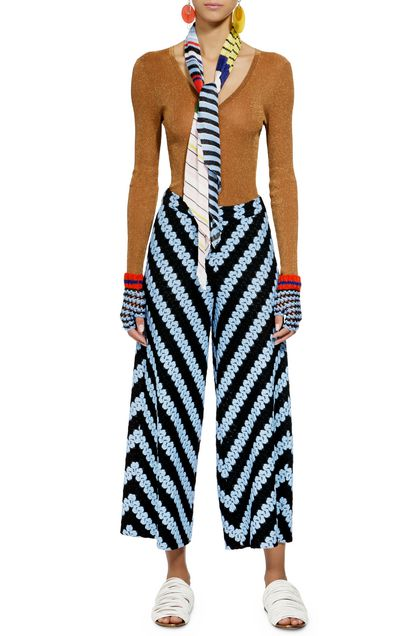MISSONI Trouser Blue Woman - Back