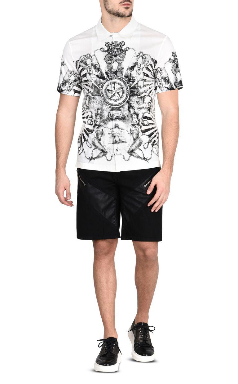 JUST CAVALLI Shorts denim scuro con zip Shorts Uomo r