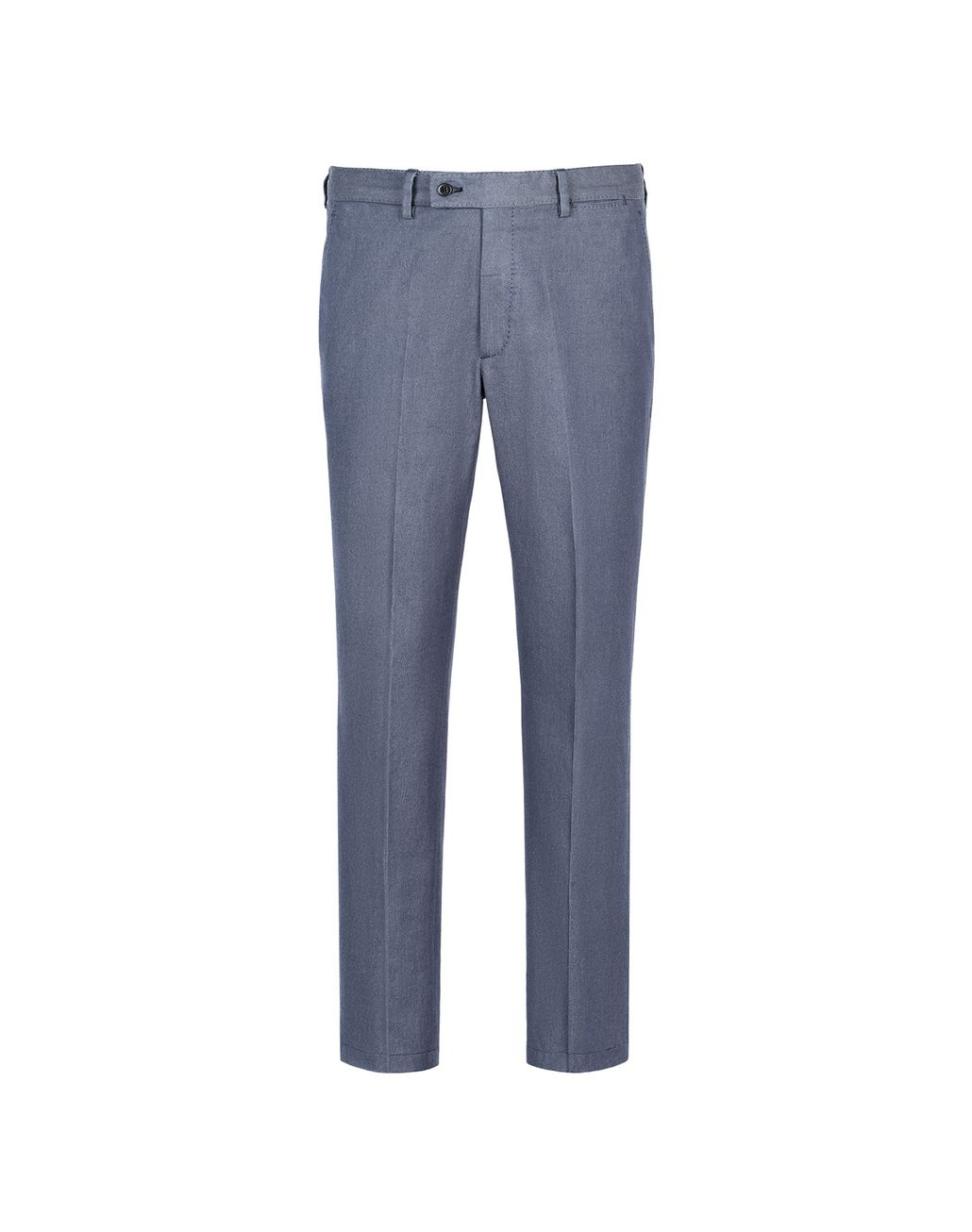 BRIONI Denim Blue Tignes Chino Trousers Trousers Man f