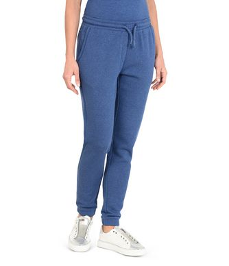 NAPAPIJRI MILEO WOMAN SWEATPANTS,BLUE