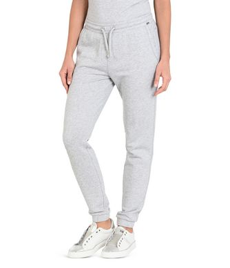 NAPAPIJRI MILEO WOMAN SWEATPANTS,LIGHT GREY