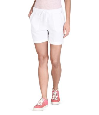 NAPAPIJRI NABIRE WOMAN SHORTS,WHITE