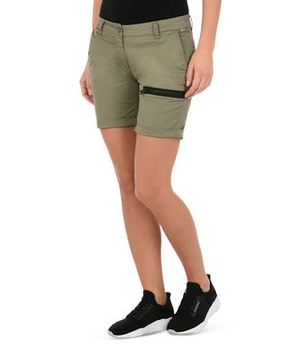 NAPAPIJRI NAUKI WOMAN SHORTS,MILITARY GREEN