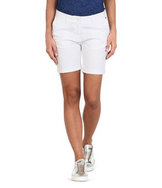 NAPAPIJRI NERIDIAN WOMAN SHORTS,WHITE