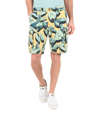 NAPAPIJRI NOBAN MAN BERMUDA SHORTS,YELLOW