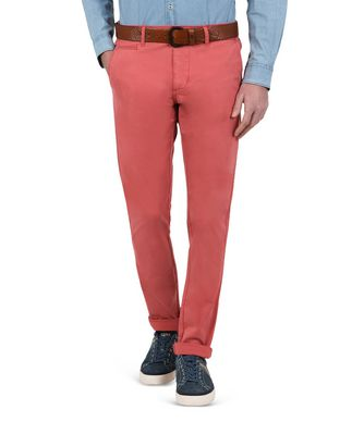 NAPAPIJRI MANA STRETCH MAN CHINO TROUSERS,CORAL
